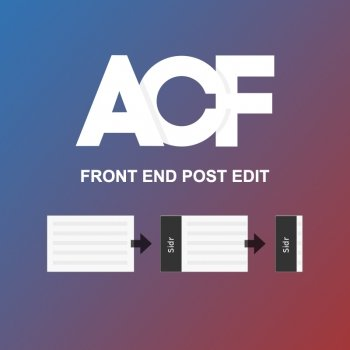 ACF Frontend Post Editor with jQuery Sidr
