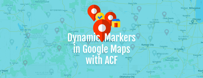 Create Google Map with Multiple Dynamic Markers Using