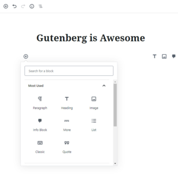 Gutenberg: Why the hate?